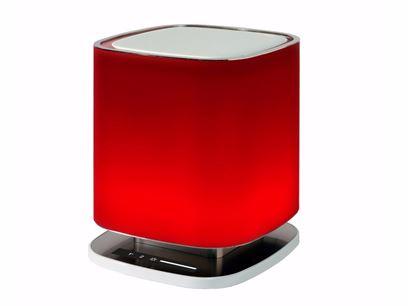 Lampada da tavolo / purificatore d'aria in vetro