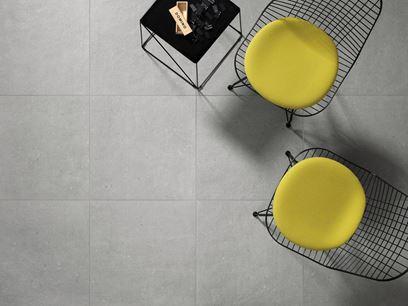Revestimiento de pared/suelo de gres porcelánico efecto concreto para interiores y exteriores
