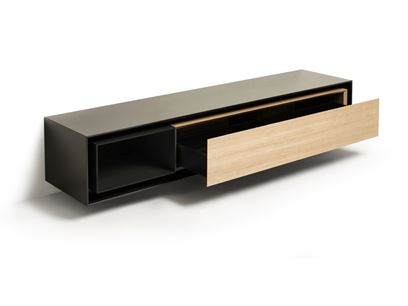 Wand- Sideboard aus Holz