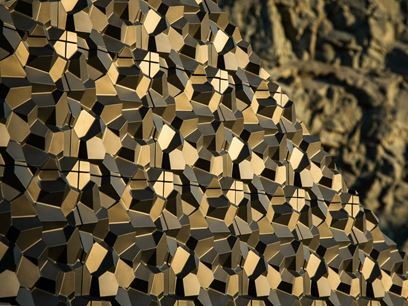 Cement 3D Wall Tile