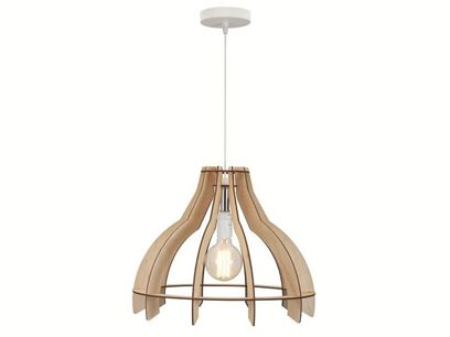 Plywood pendant lamp