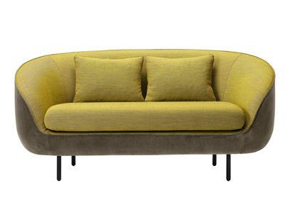 Upholstered 2 seater sofa