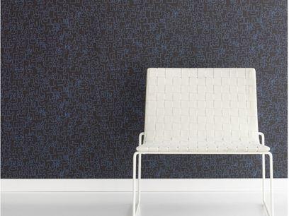 Motif nonwoven wallpaper