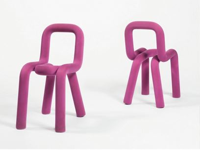 Fabric chair with removable cover