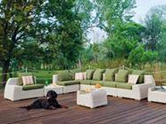 Atmosphera / VOGUE   Sectional sofa at Milano Design Week 2015