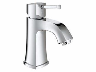 Countertop single handle washbasin mixer without waste