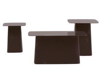 Mesa de centro de aço com pintura à pó