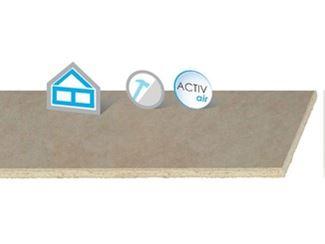 Plaque de plâtre écologique pour murs intérieurs pour faux plafond