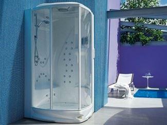 Cabine de douche multifonction rectangulaire à vapeur