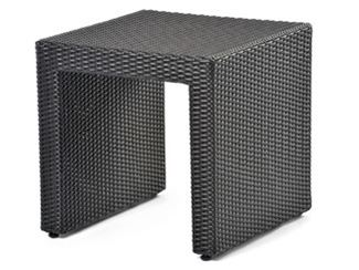 Square garden side table