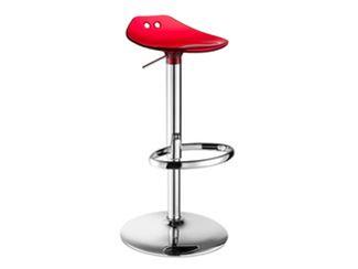 Height-adjustable swivel stool