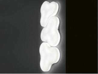 Methacrylate wall lamp