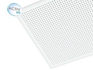 Plasterboard ceiling tiles